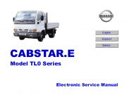 Repair manuals Nissan Cabstar Model TL0 Series Electronic Service Manual