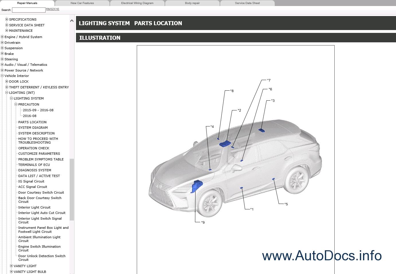 2009 Lexus Rx 350 Service Manual Basic Instruction Isf Wiring Diagram Is F Pdf 250 Choice