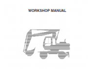 Repair manuals Fiat Hitachi Excavators EX135W Workshop Manual PDF
