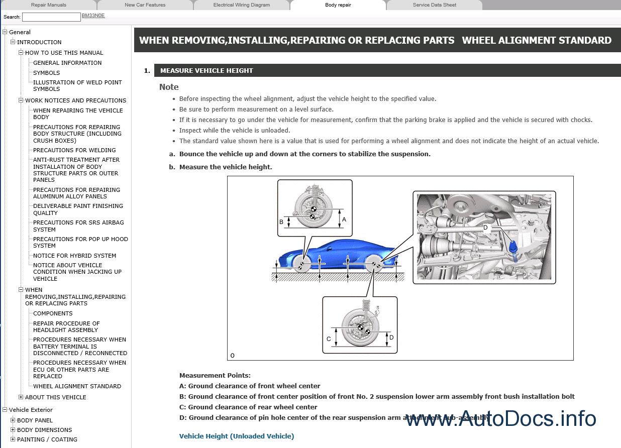 Lexus Lc500 Repair Manual 032017 Electrical Wiring Diagram Manuals Lc500h 2