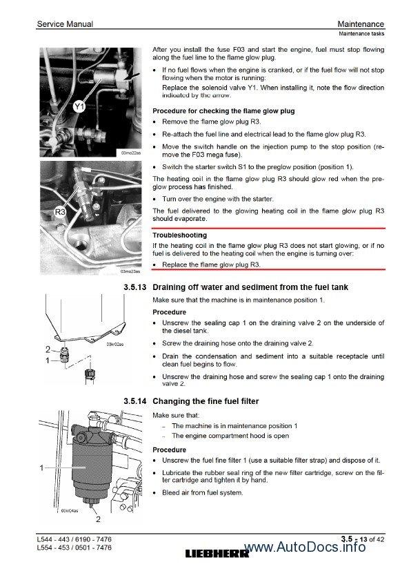 Liebherr L544 - L554 2plus2 workshop service manual, repair