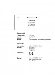 Repair manuals Liebherr PR 726-1329, PR 726-1330, PR 726-1331 Crawler Dozers Service Manual PDF