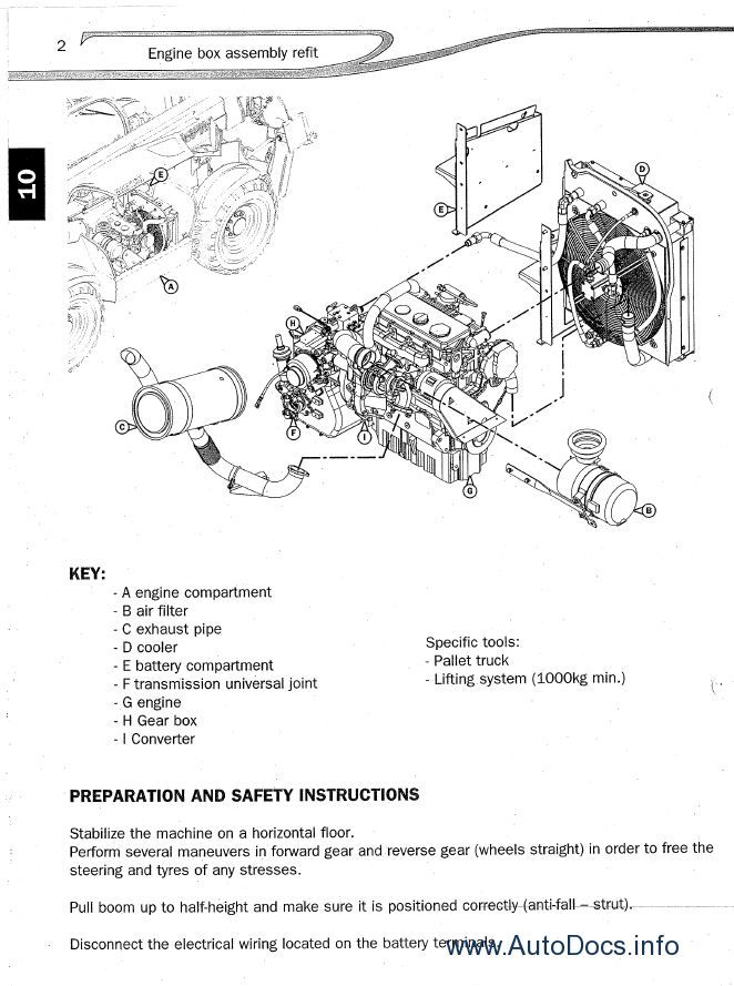 Manitou Telehandler Mt1840 Workshop Service Manual Pdf