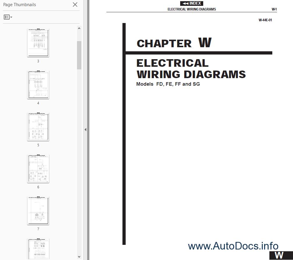 Hino Wiring Diagrams