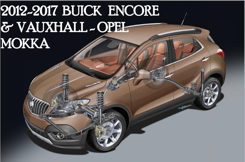 Vauxhall Opel Mokka Pdf Shop Manual 2012